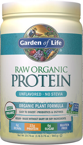 Garden of Life RAW Organic Protein Unflavored 20 servings