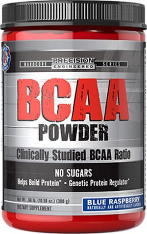 Precision Engineered® BCAA Powder Blue Raspberry 11 oz. Powder