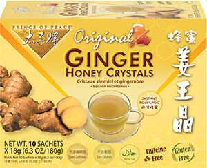 Prince of Peace Ginger Honey Crystals Tea Original flavor