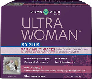 Vitamin World Ultra Woman™ 50 Plus Daily Multivitamin Packs 30 Packets