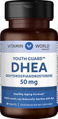 Vitamin World DHEA 50 mg. 50 Tablets