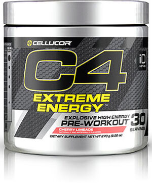 Cellucor® C4® Extreme Energy Preworkout 9.52 oz. Cherry Limeade