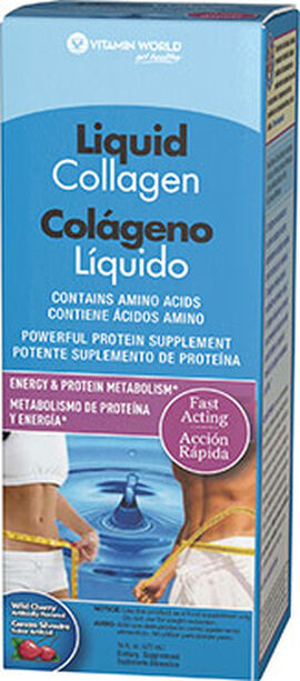 Liquid Collagen Wild Cherry