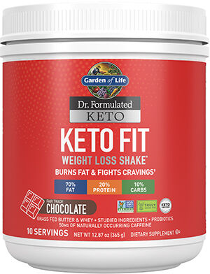 Dr. Formulated Keto Fit Chocolate, , hi-res