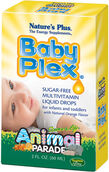 Nature's Plus Animal Parade Baby Plex Liquid Multivitamins 2 oz. Liquid
