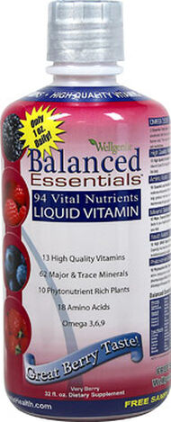 Heaven Sent Naturals, Inc. Balanced Essentials™ Liquid Viitamins 32 oz. Liquid