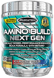 MuscleTech Amino Build® Next Gen Icy Rocket Freeze 10 oz. Powder