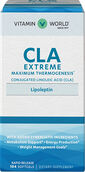 Vitamin World Lipoleptin CLA Extreme 2000 mg. 104 Softgels