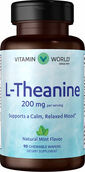 Vitamin World L-Theanine 200mg Chewable