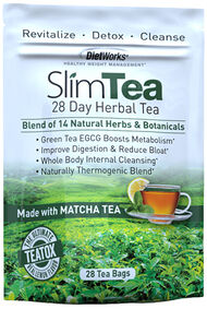 SlimTea 28-Day Herbal Tea, , hi-res