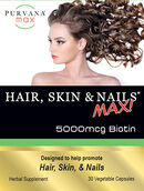 Purvana Max Hair, Skin, & Nails Max 5000mcg