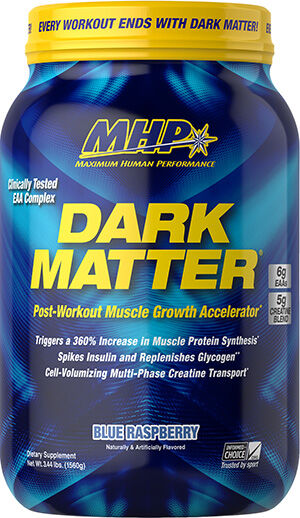 MHP Dark Matter® Post-Workout Blue Raspberry