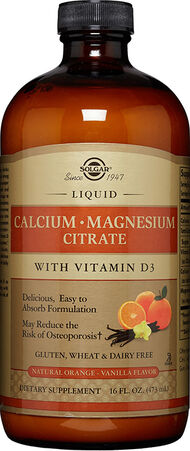 Liquid Calcium Magnesium Citrate with Vitamin D3 Orange-Vanilla, , hi-res
