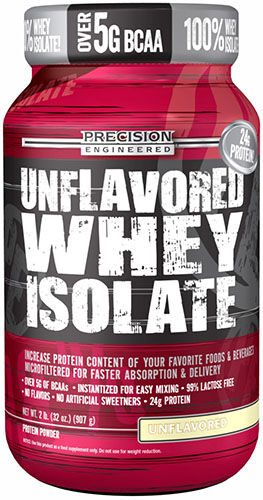 Precision Engineered® Whey Protein Isolate Unflavored 2 lbs. 2 lbs. Powder
