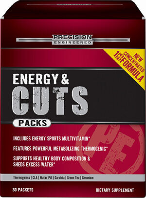Precision Engineered® Energy & Cuts Packs Workout Supplement Pack