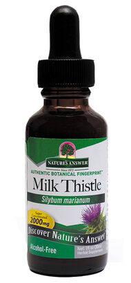 Nature's Answer Liquid Milk Thistle 1 oz. Liquid 2000mg.