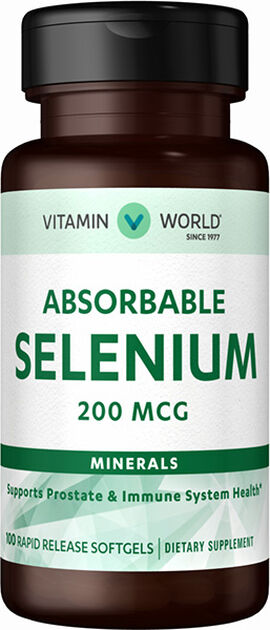 Absorbable Selenium 200 mcg.