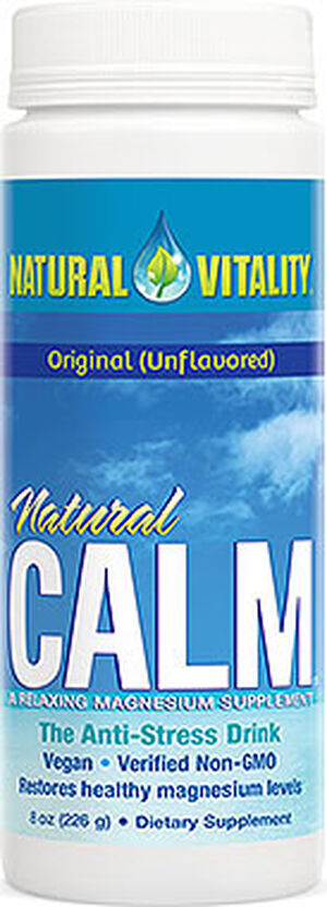 Natural Vitality Natural Calm Original 8 oz. Powder 350mg.