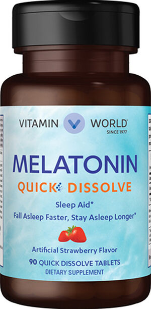 Melatonin Quick Dissolve, , hi-res