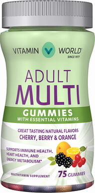 Vitamin World Adult Multivitamin Gummies