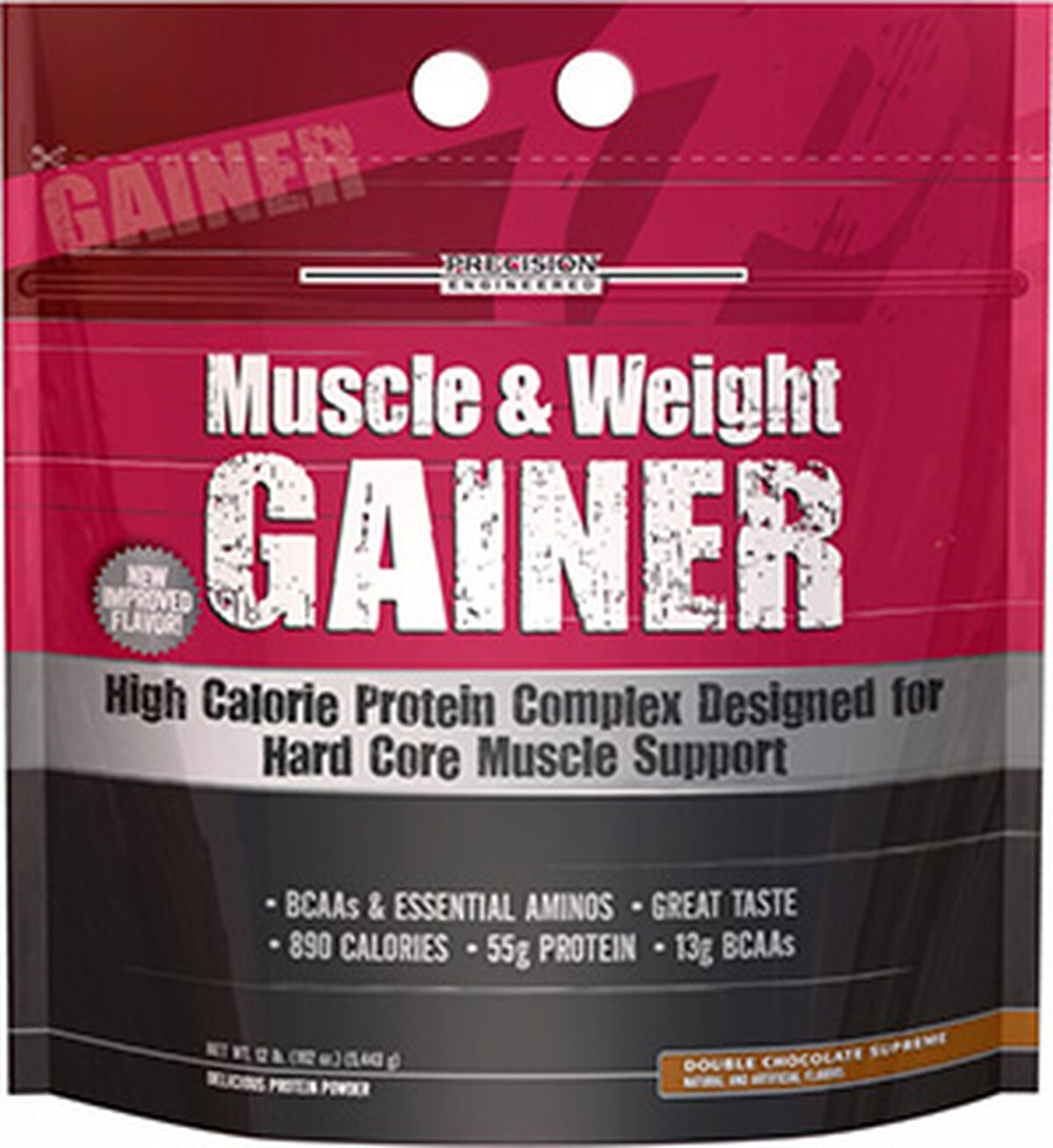 Precision Engineered Muscle & Weight Gainer Double Chocolate Supreme   Vitamin World   Tuggl