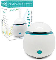 AromaPod™  Ultrasonic Diffusing Mister White, , hi-res
