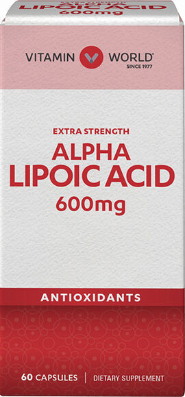 Alpha Lipoic Acid 600 mg.