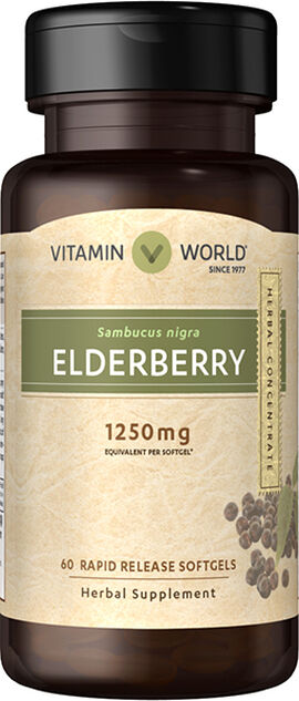 Elderberry 1250 mg