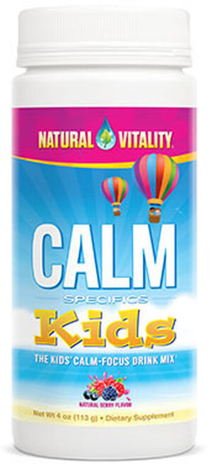 Natural Vitality Natural Calm Specifics Kids 4 oz. Powder Berry