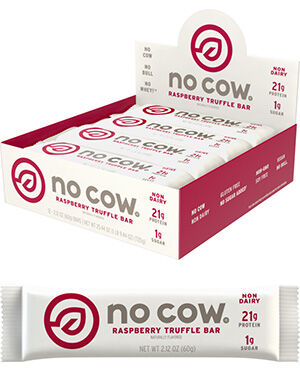 D's Naturals No Cow® Protein Bars Raspberry Truffle 12 Bars