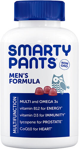 SmartyPants Men's Formula Multivitamin Gummies