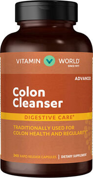 Vitamin World Advanced Colon Cleanser 240 Capsules