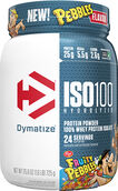 Dymatize ISO-100® Hydrolyzed Whey Protein Isolate 1.6 lbs. Fruity Pebbles