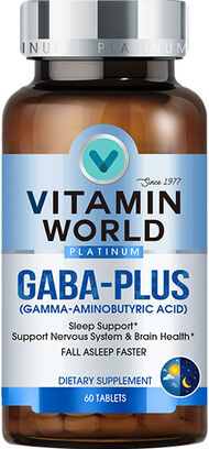 Vitamin World® Platinum GABA-Plus