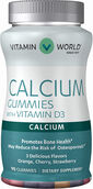 Vitamin World Calcium Gummies with Vitamin D3
