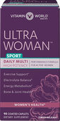 Vitamin World Ultra Woman™ Sport Daily Multivitamins 90 Caplets