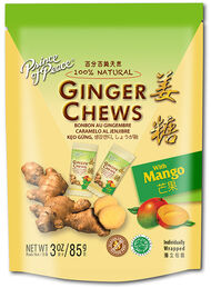 Prince of Peace Ginger Chews Mango 3 oz. Chewables