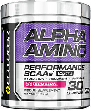 Alpha Amino BCAAs Watermelon 13.4 oz., , hi-res