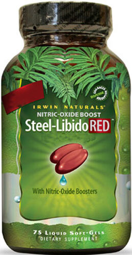 Steel-Libido Red 75 Softgels Irwin Naturals Steel-Libido Red 75 Softgels