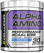 Cellucor Alpha Amino BCAAs Icy Blue Razz 13.4 oz. 13 oz. Powder
