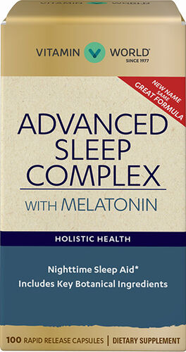 Vitamin World Super Snooze with Melatonin 100 Capsules