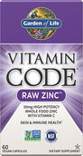 Garden of Life Vitamin Code® RAW Zinc