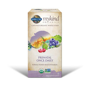 Garden Of Life mykind Organics Prenatal Once Daily Vitamins 30 Tablets