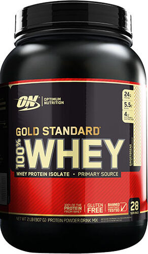Optimum Nutrition Gold Standard 100% Whey Protein Isolate Gingerbread 2 lbs.