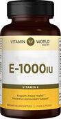 Vitamin World Vitamin E 1000 IU 100 Softgels
