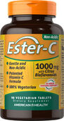 American Health Ester-C® 1000 mg with Citrus Bioflavonoids 90 Tablets 1000mg.