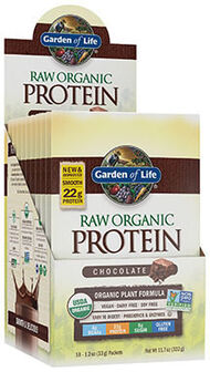 Garden Of Life RAW Organic Protein Packets Chocolate 10 Packets