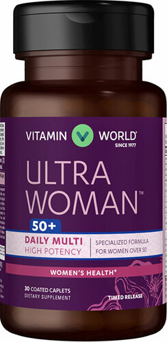 Vitamin World Ultra Woman™ 50 Plus Daily Multivitamins 30 Caplets