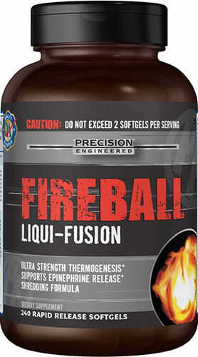 Precision Engineered® Fireball Liqui-Fusion 240 Softgels