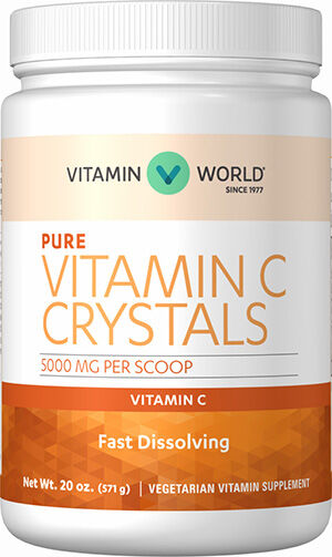 Vitamin World Vitamin C Crystals 5000 mg.